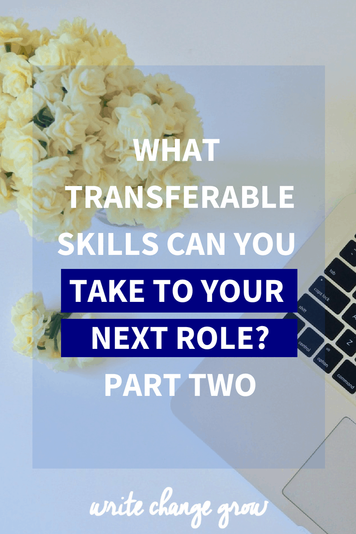 While certain roles don't seem like they have a lot in common, sometimes there are transferable skills that we can take from one role to another. Read What Transferable Skills Can You Take to Your New Role?