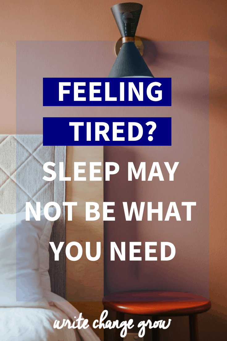 Feeling tired and think you need more sleep? What you might actually need is to get organised and stop feeling overwhelmed.