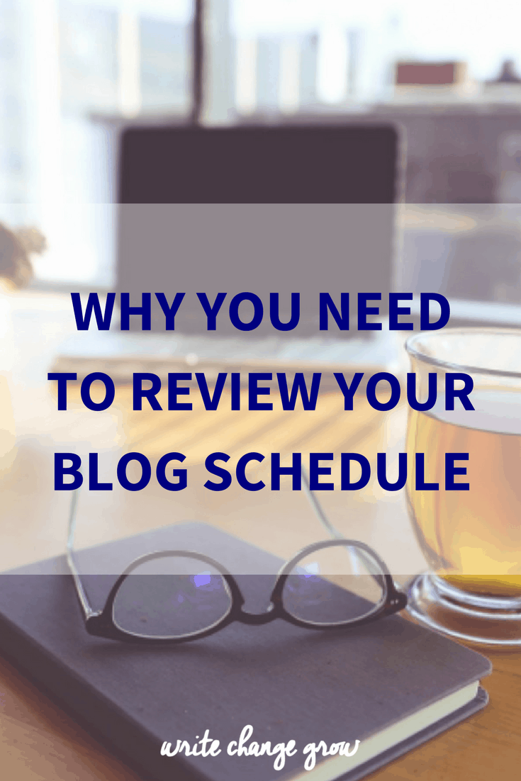 Why you need to review your blog schedule - you might be taking a lot longer at things and have a lot less time than you think.