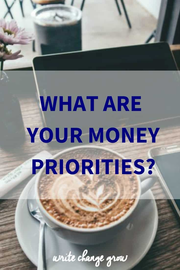 It's time to get real about your money priorities.