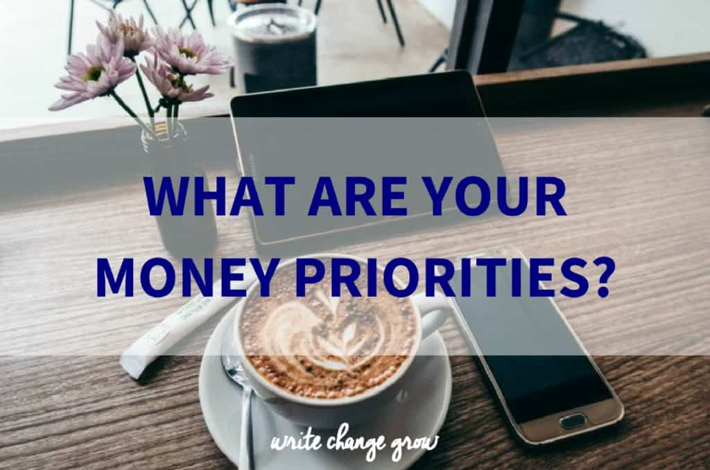 What are your Money Priorities?