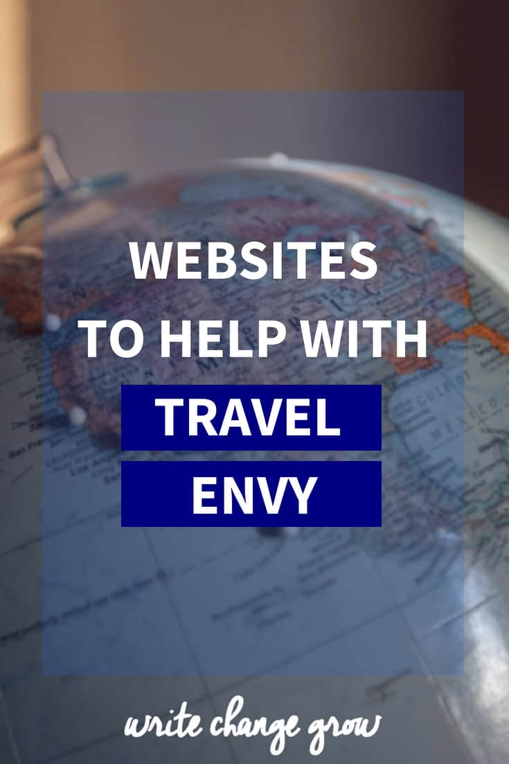 Feel like everyone is traveling but you? Need some travel motivation? Read Websites to Help with Travel Envy