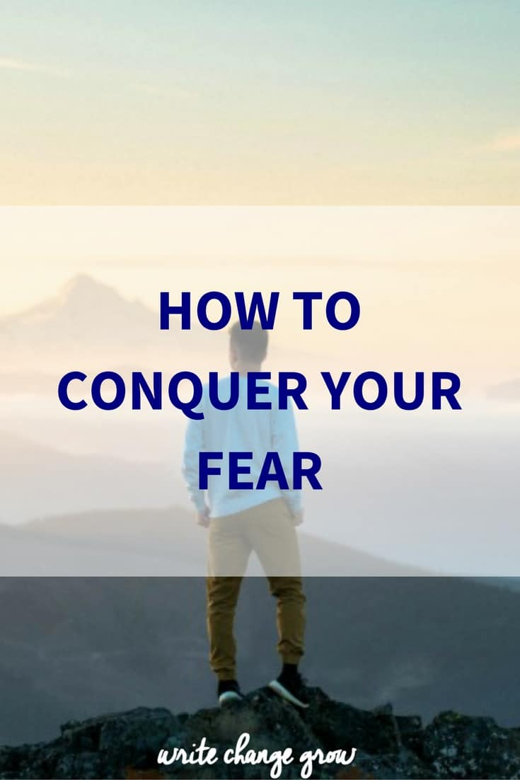 It's time to get real about our fears.