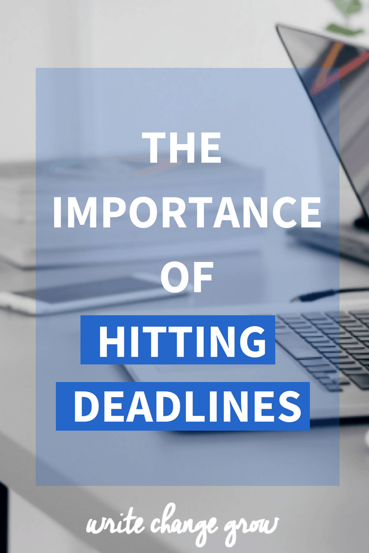 Hitting deadlines is important. It affects your work performance, your productivity and how your work colleagues feel about you. Read the importance of hitting deadlines.