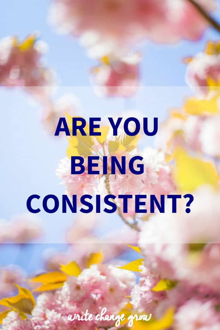 Are You Being Consistent or is your productivity all over the place?