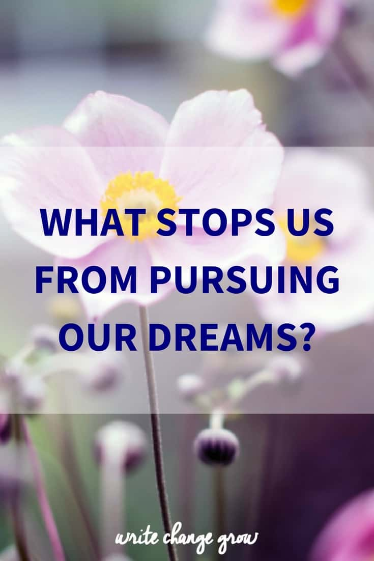 What Stops Us From Pursuing Our Dreams?