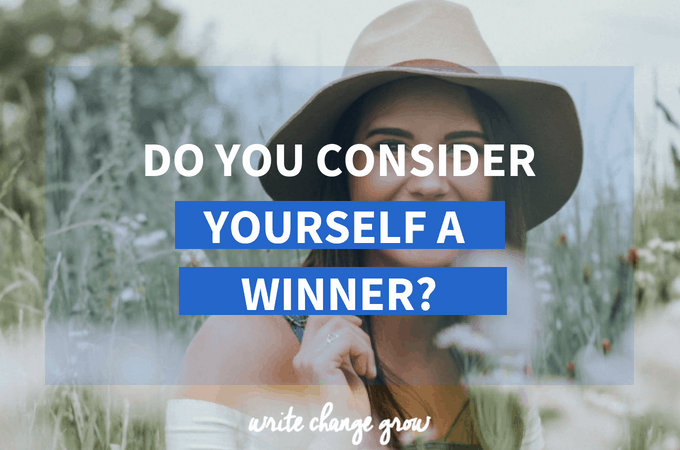 Do You Consider Yourself A Winner?