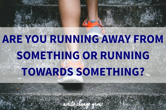 Are you running away?