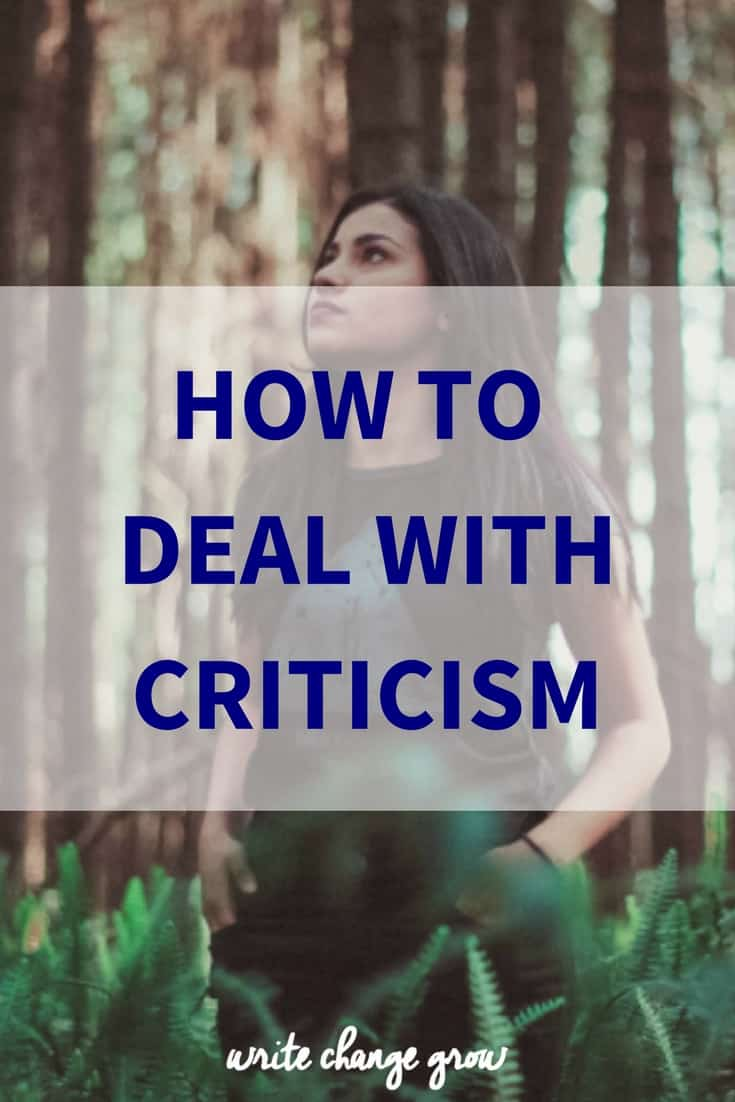 Dealing with criticism is rarely fun but it's an essential part of life and personal growth.