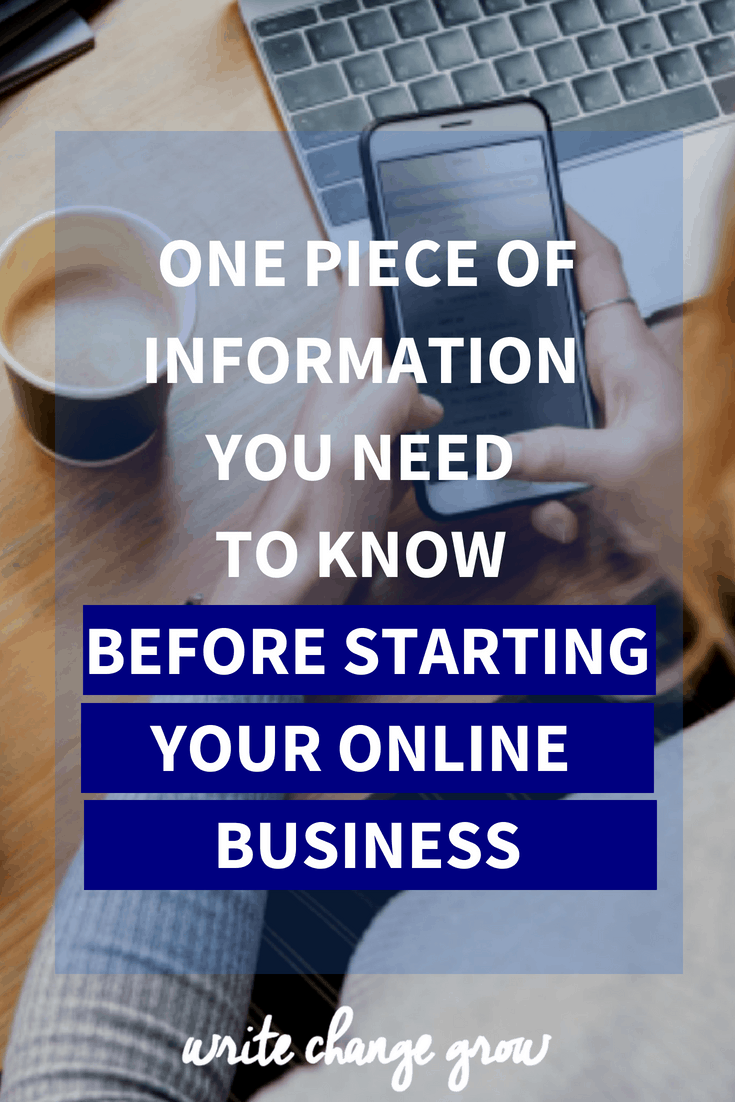 Thinking about starting your own online business/blog? Read One Piece of Information You Need to Know Before Starting Your Online Business first.