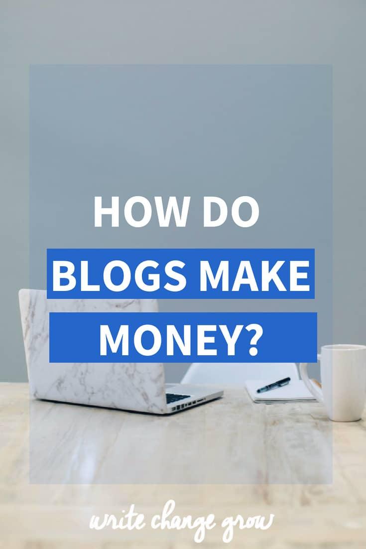 Read How Do Blogs Make Money?