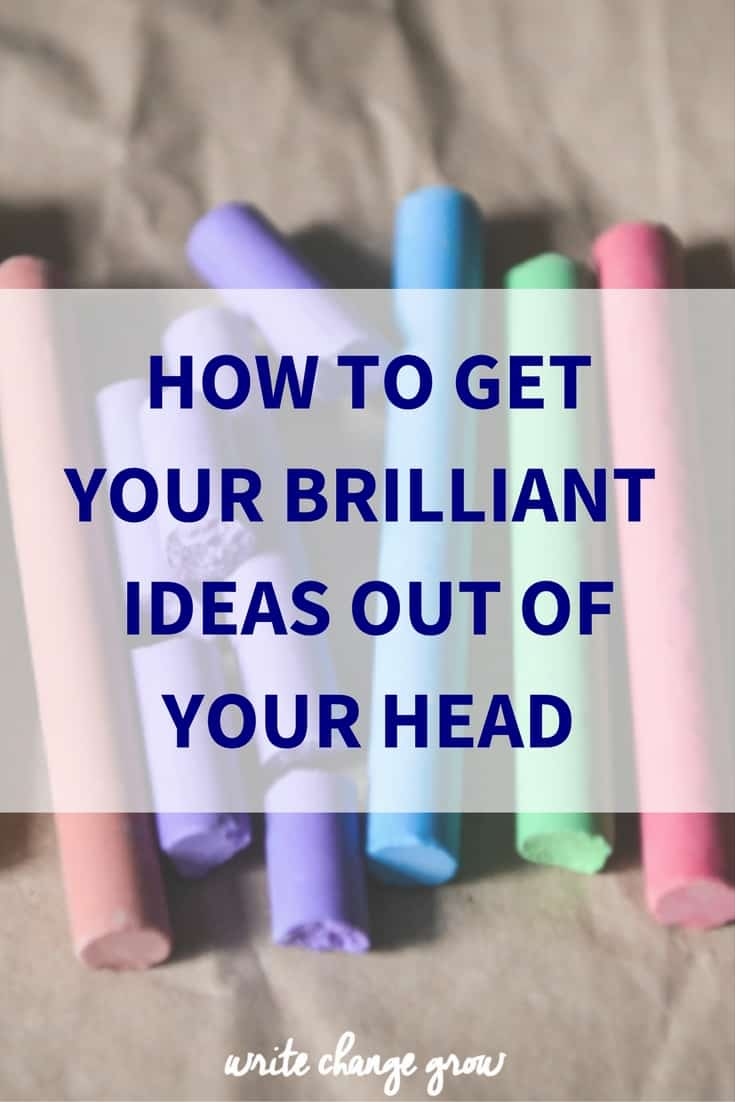 Got lots of ideas? It's time to get them out of your head and make stuff happen.