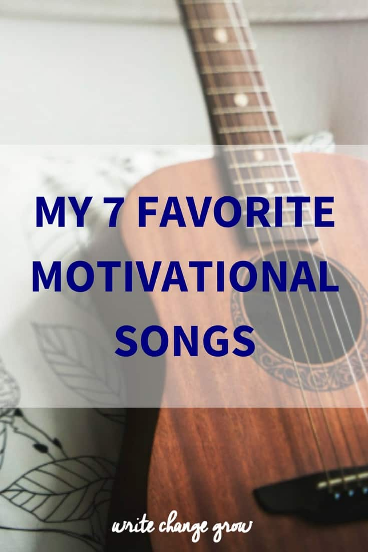 What songs get you motivated? Here are my favourite motivational songs. Enjoy!