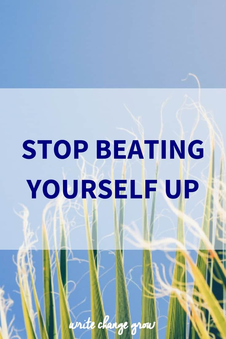 Tips to help you stop being so hard on yourself.