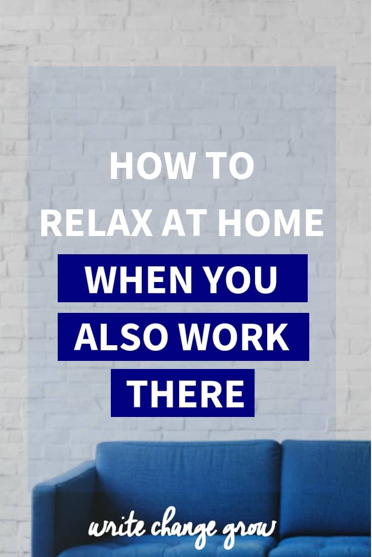 Working at home definitely has it's perks but it also has setbacks. One evolves around relaxing at home. Read How to Relax at Home When You Also Work There.