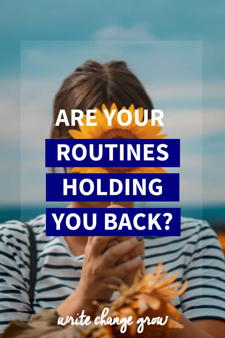 Routines are an important part of life. Routines can help you but somtimes hinder you as well. Read Are Your Routines Holding You Back to learn more.
