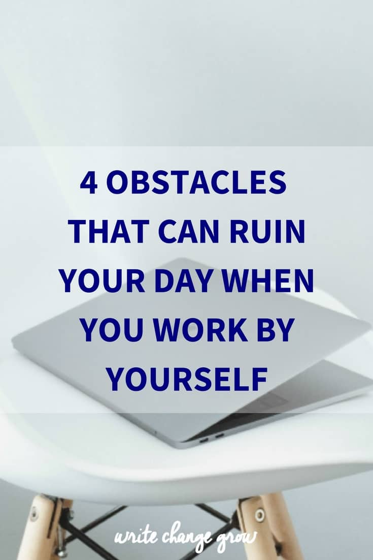 Don't let these 4 obstacles ruin your day.