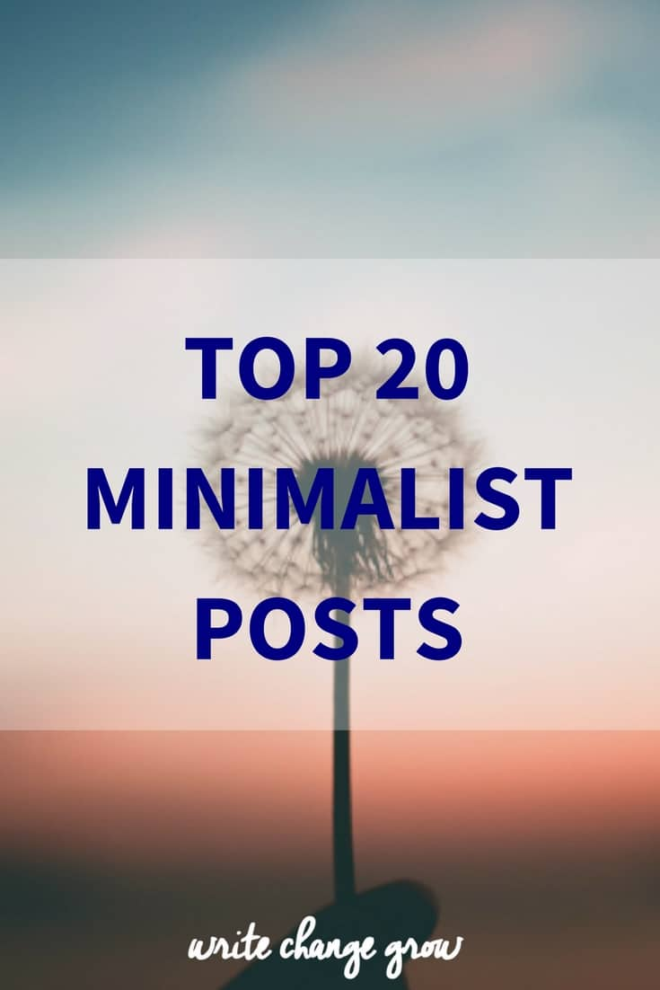 Explore the world of minimalism with great articles on owning less, changing habits and having more time for the things that really matter.