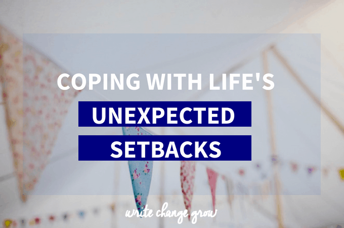 Coping with Life's Unexpected Hiccups