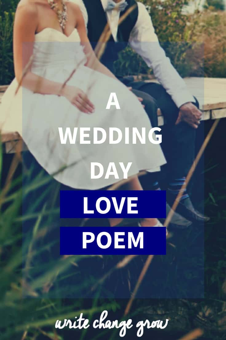 A Wedding Day Love Poem