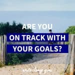 Are you on track with your goals?