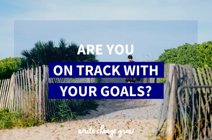 Are You on Track for Your 2011 Goals?
