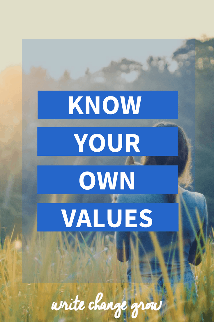 It's important to know your own values and have a strong sense of self. Read Know your own values for how to better align your values with your life.