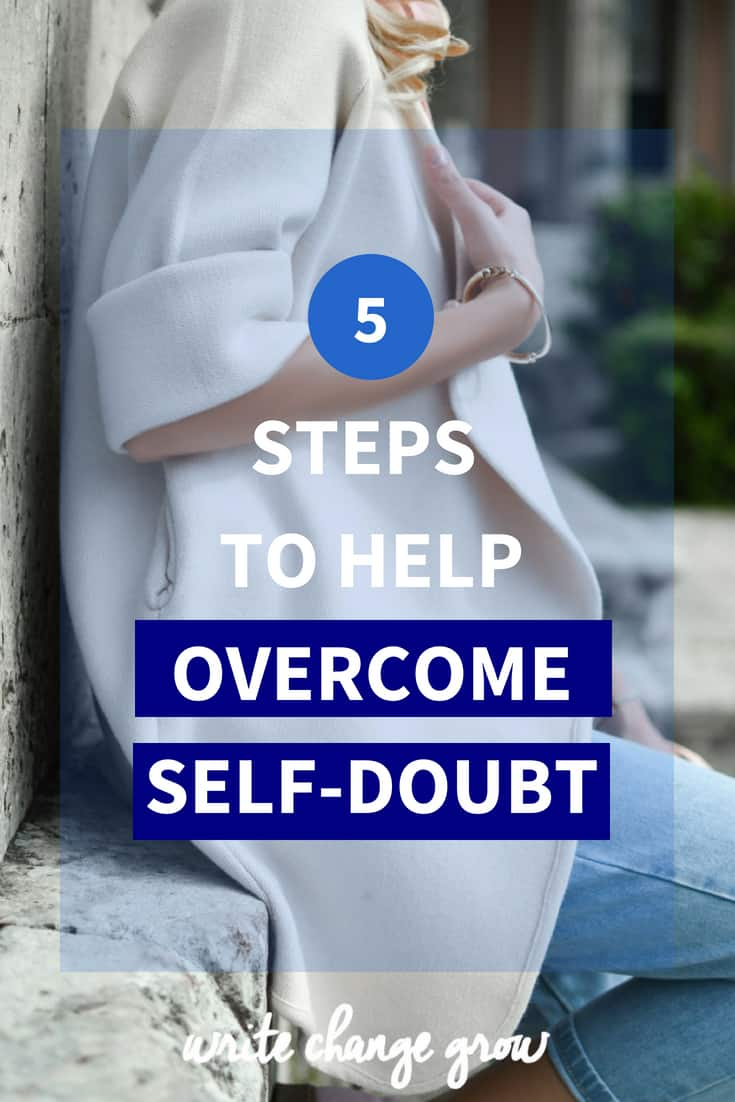Self-doubt can be crippling if you don't get it under control. Read 5 Steps to Help Overcome Self-Doubt