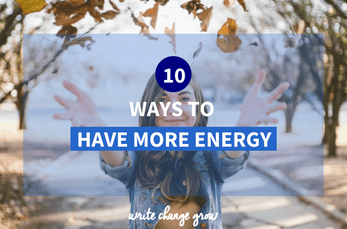 Your Greatest Resource – Energy