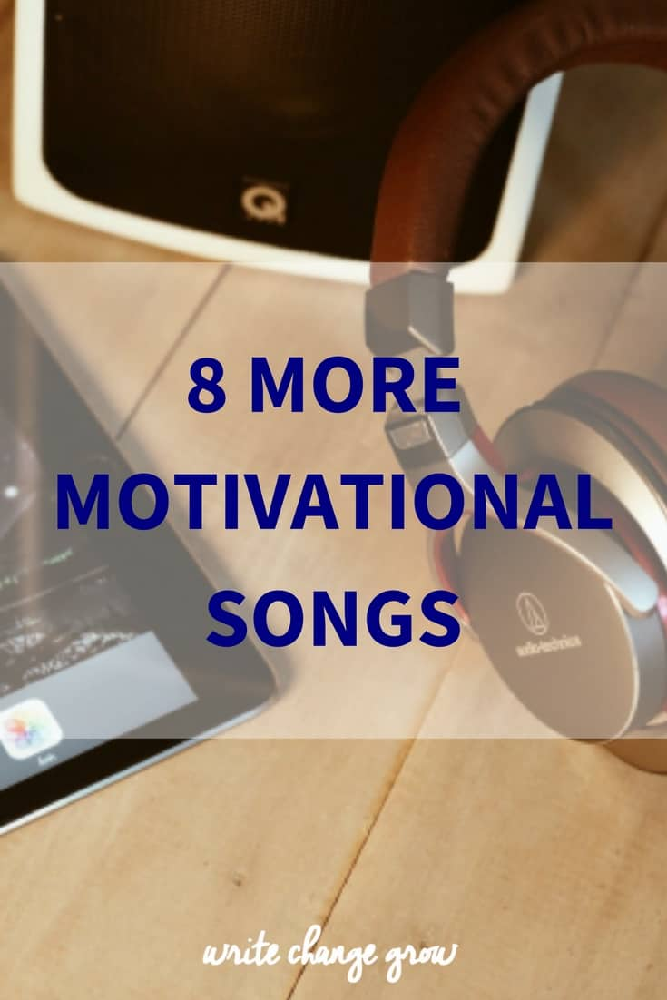 Get your motivation on with these 8 motivational songs.