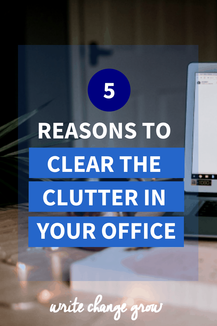 Don't let a cluttered office ruin your productivity. Read 5 Reasons to Clear the Clutter in Your Office