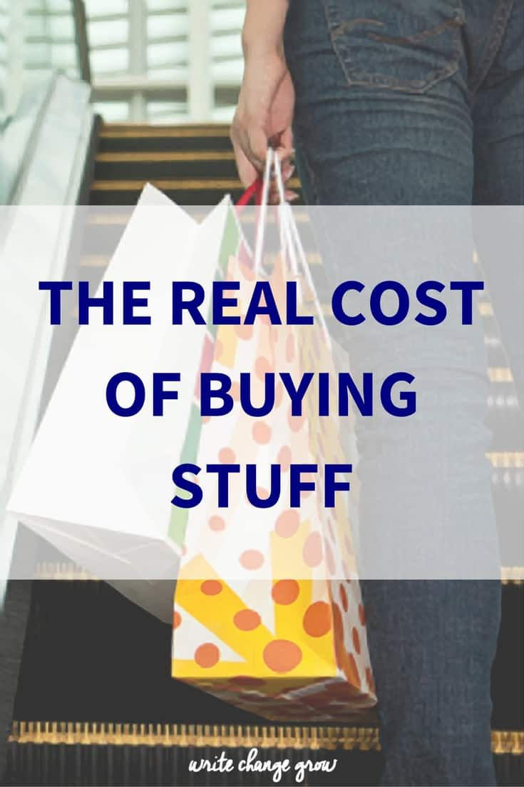 What is your latest shopping spree really costing you? It's definitely more than just money.