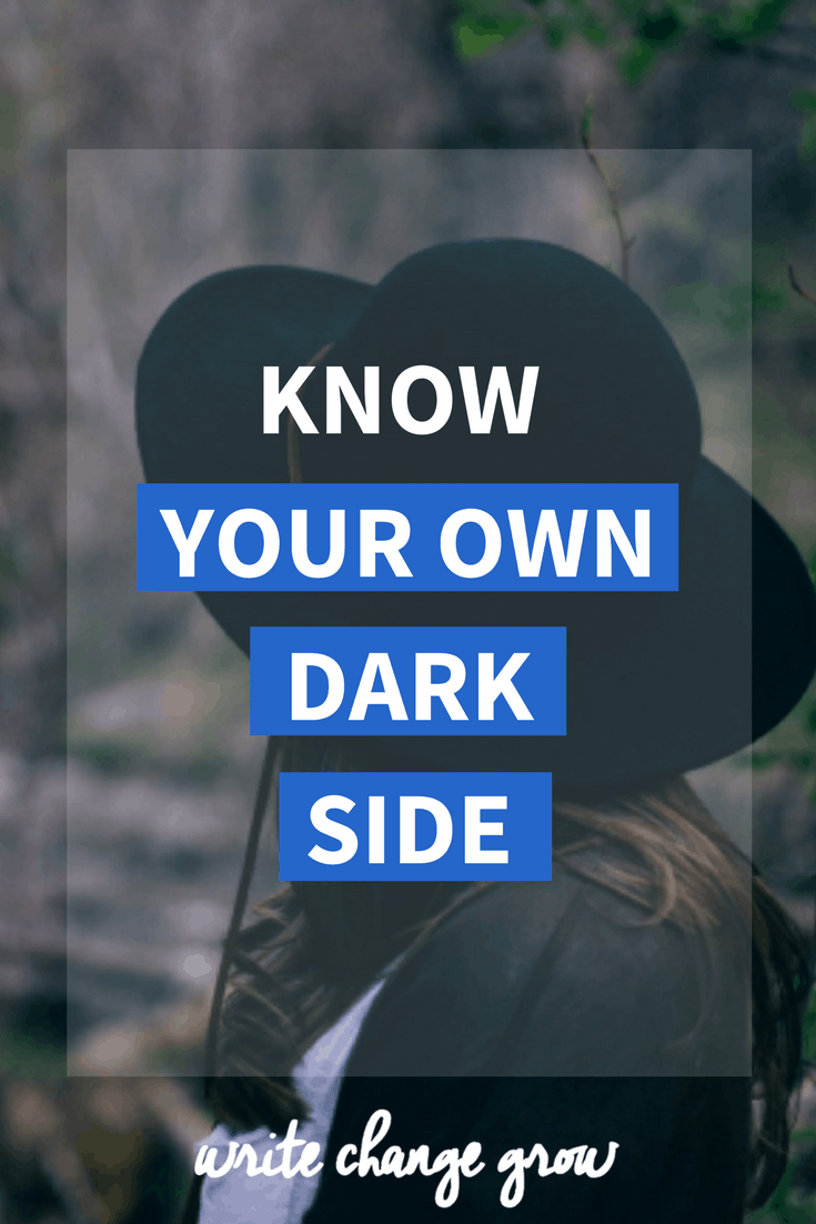 We all have our own dark side whether we want to admit it or not. Knowing your dark side can help you but ignoring it could cause problems. Awareness is important. Read the full post - Know Your Own Dark Side.