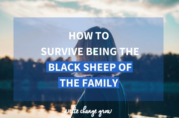 Black sheep of the family? No problem, read my tips on how to survive being the black sheep of the family.