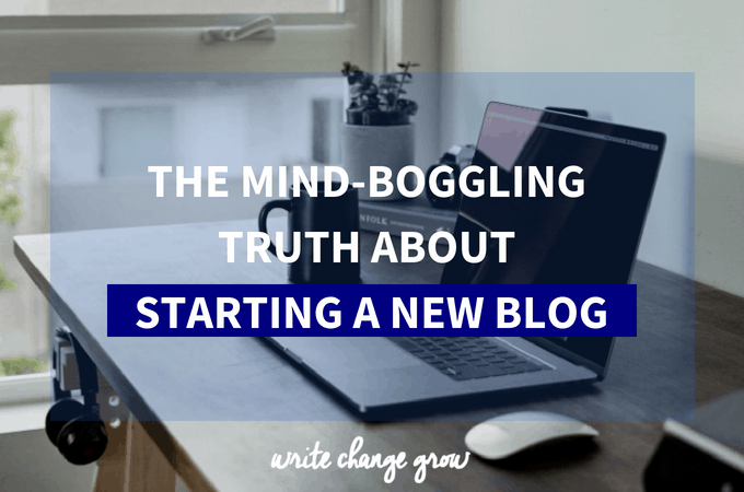 The Mind-Boggling Truth about Starting a Blog from Scratch with No Prior Experience