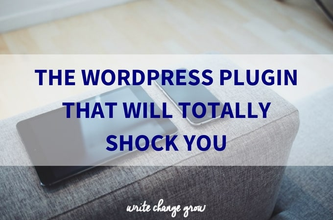 The WordPress Plugin That Will Totally Shock You