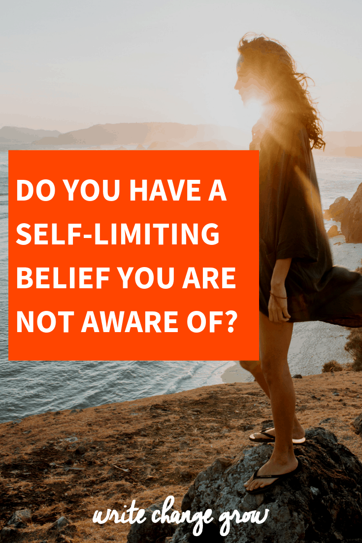 Do you have a self-limited belief you are not aware of? Self-limiting beliefs can hold us back so it's important to be aware of them and work on eliminating them.