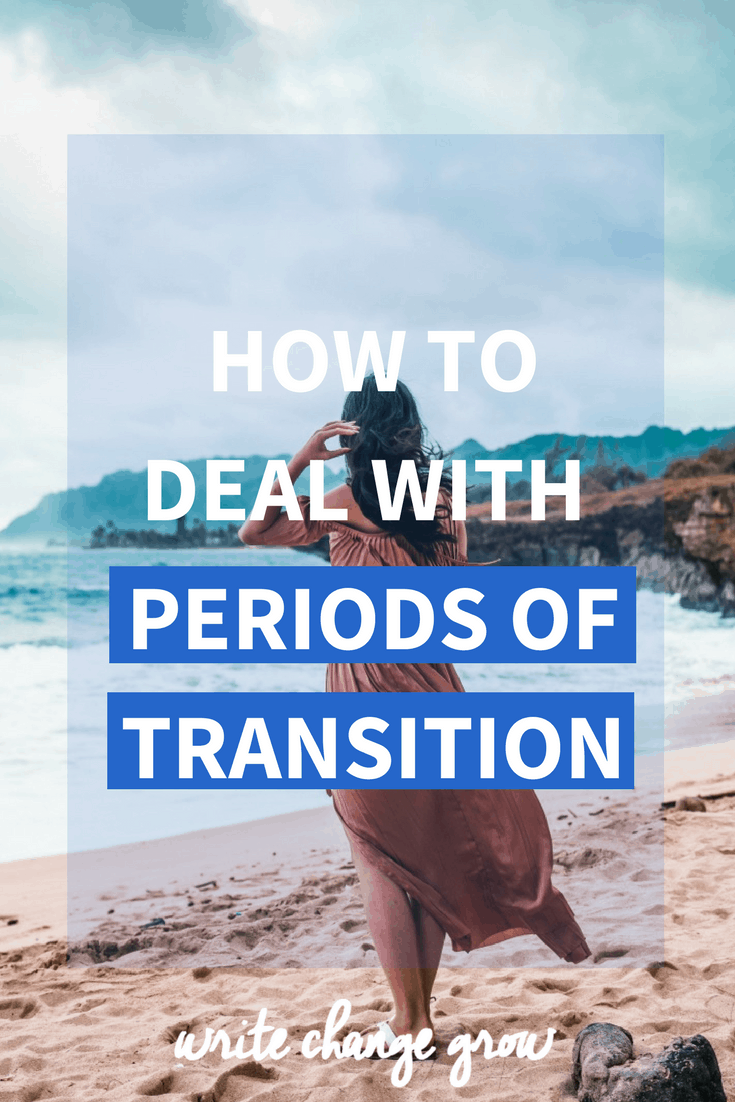 Transitions can be difficult. We might feel stuck, impatient and frustrated. We might feel like we are not moving forward. Read the full post on how to deal with periods of transition.