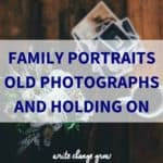 Do you have any family portraits hidden in the house?