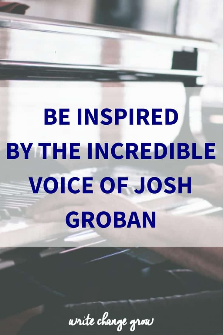 Be inspired by the incredible voice of Josh Groban