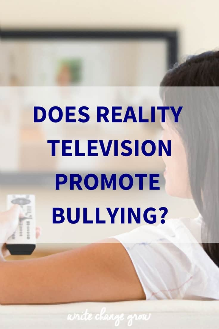 Does Reality Television Promote Bullying?