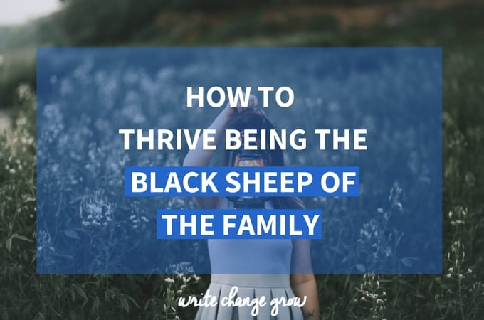 How to Thrive Being the Black Sheep of the Family