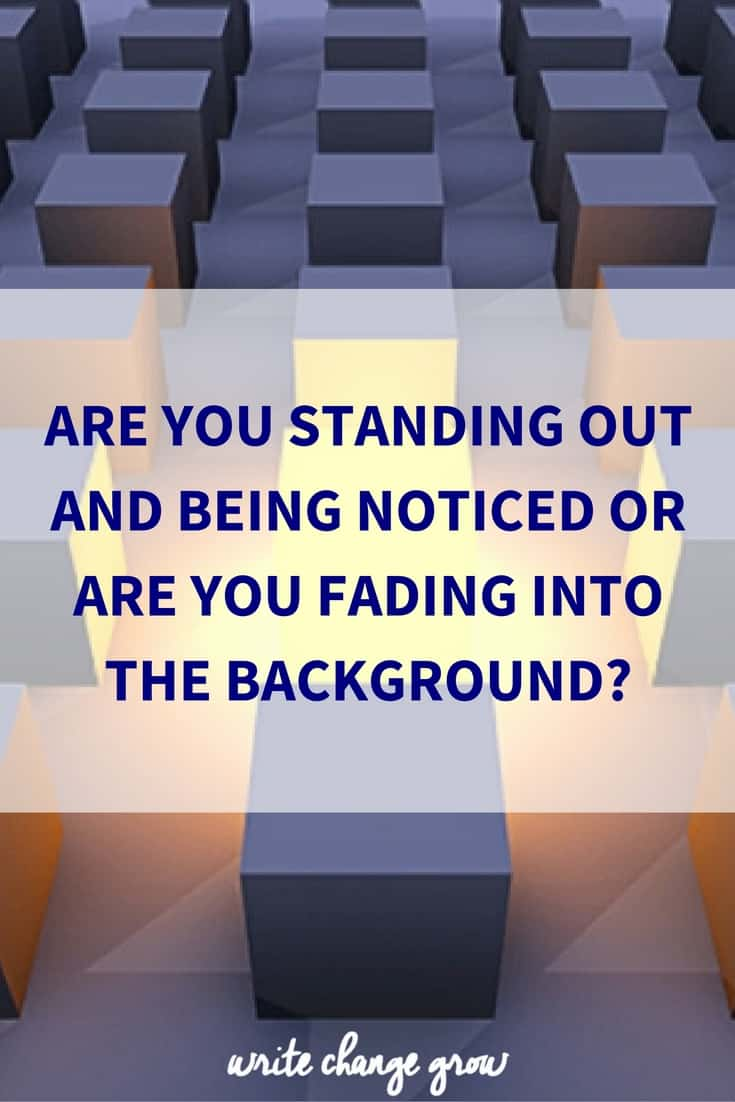 It's time to stand out and get noticed.