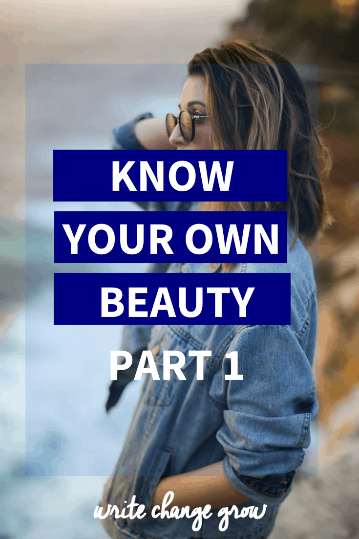 Often we overlook or downplay our own beauty. We're far too busy criticizing ourselves, stressing over our flaws and comparing ourselves to other people. Read Know Your Own Beauty Part 1.