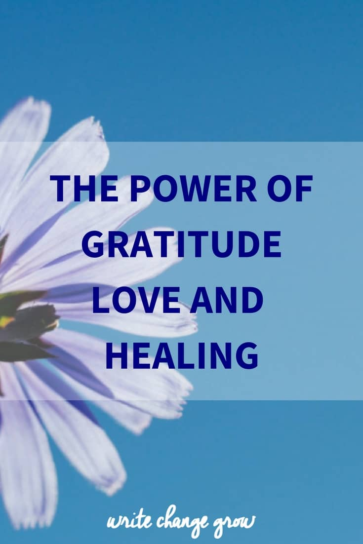 The Power of Gratitude Love and Healing. What are you grateful for?