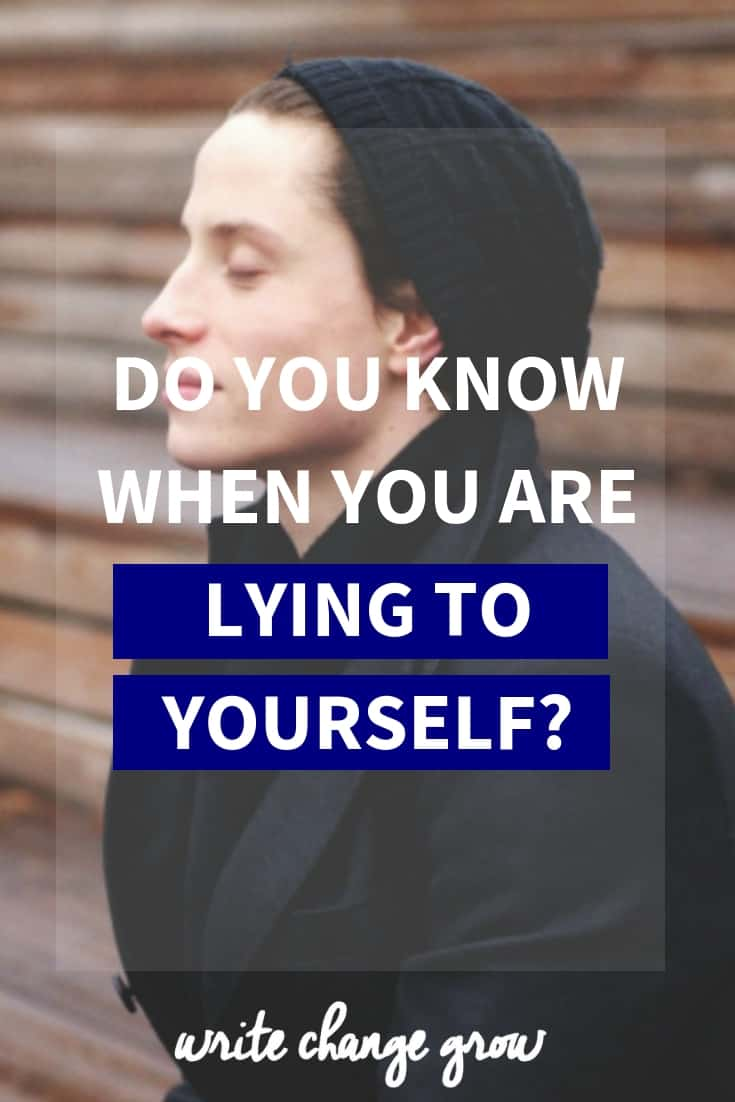Doing what you say you'll do is an important part of our success and happiness. But often we lie to ourselves.  Do you know when you are lying to yourself?