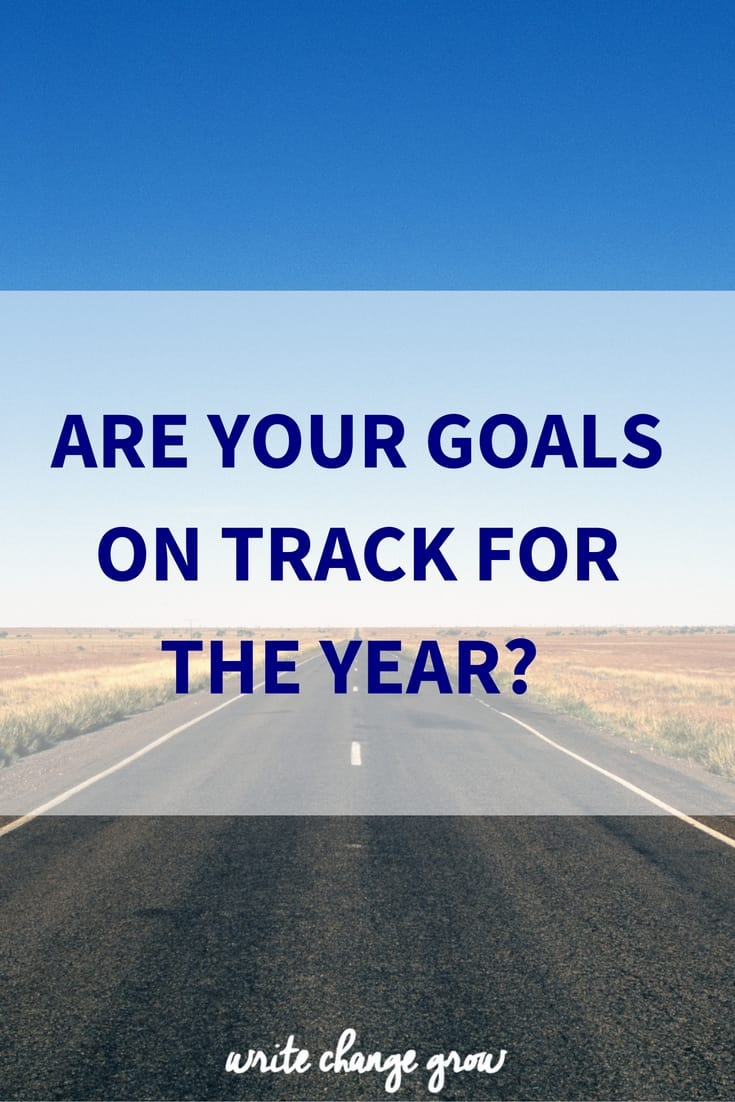 are your goals on track for the year