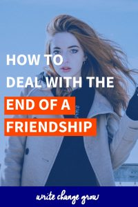 How to Deal with the End of a Friendship