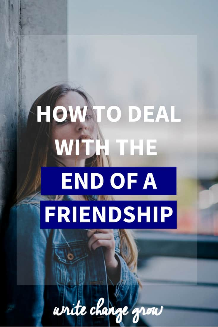 Sometimes friendships come to an end and we have to deal with them. Read How to Deal with the End of a Friendship.