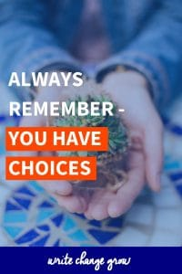 You have choices. #personalgrowth